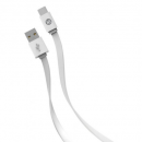 Buy New Flat USB-C™ To USB-A Cable, 4ft (White) Iessentials(r)
