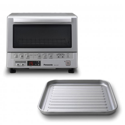 New FlashXpress™ 1,300-Watt Toaster Oven With Double Infrared Heating (Silver)