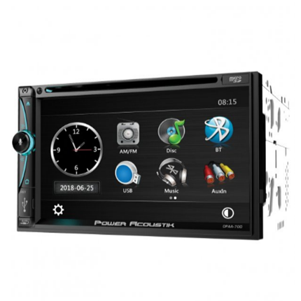CPAA-70D 7-Inch Double-DIN In-Dash DVD Receiver With Bluetooth®, Apple CarPlay™, And Android™ Auto