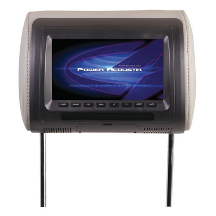 New Universal Headrest Monitor With IR Transmitter & 3 Interchangeable Skins (7