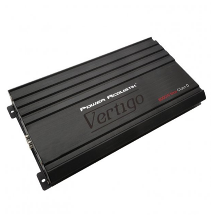 New Vertigo Series 8,000-Watt Max Monoblock Class D Amp Power Acoustik(r)