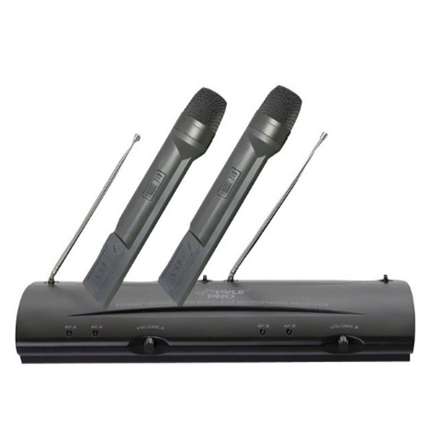 New Professional Dual-Channel VHF Wireless Handheld Microphone System