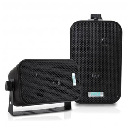 New 3.5   Indoor/Outdoor Waterproof Speakers (Black) Pyle(r)